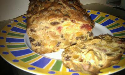 Mango Fruit Cake 1