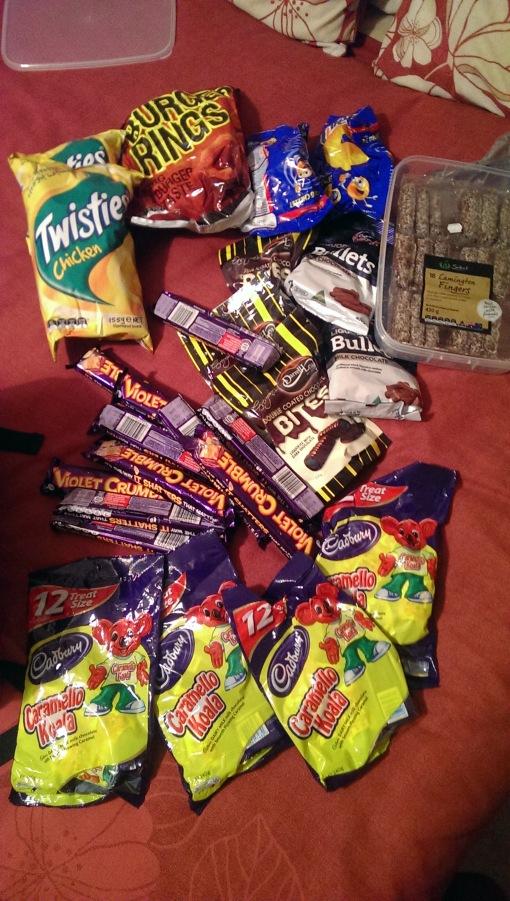 Aussie snacks