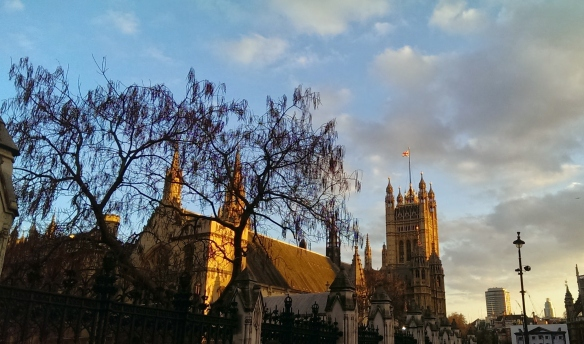 Westminster Palace from Whitehall