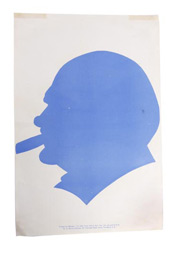 Churchill campaign poster