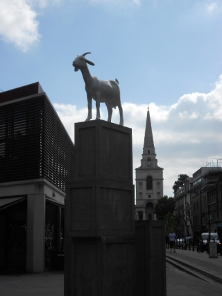 The Goat Statue