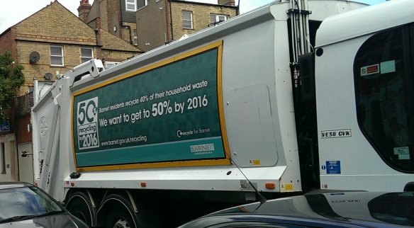 barnet recycle truck