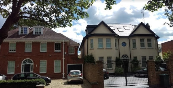 Dollis Avenue houses