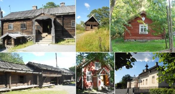 Skansen Buildings montage