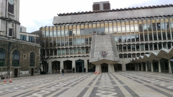 The Guildhall Yard (site of Roman ampitheatre (640x360)