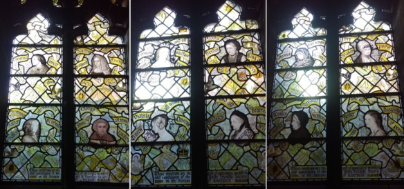 Liverpool Anglican Cathedral - Chapel windows