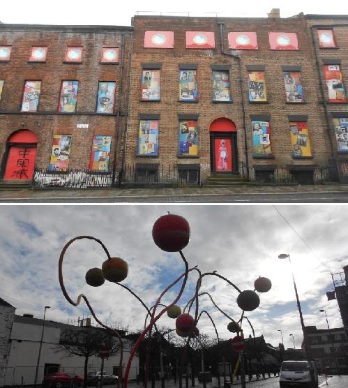 Street scenes Liverpool