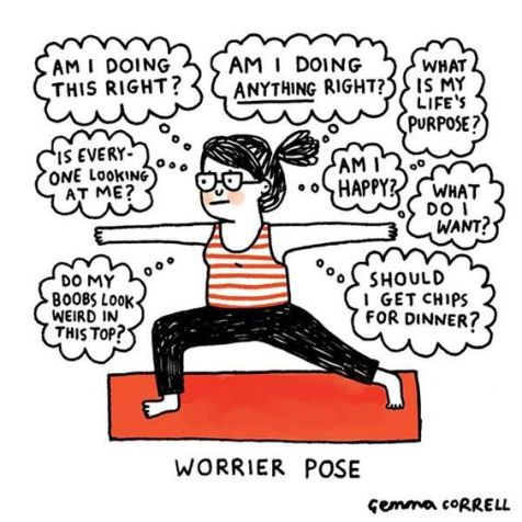 worrier-pose