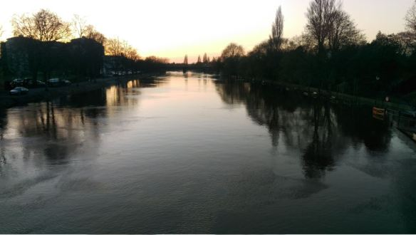 River Ouse from Lendal Bridge (l) (sml)