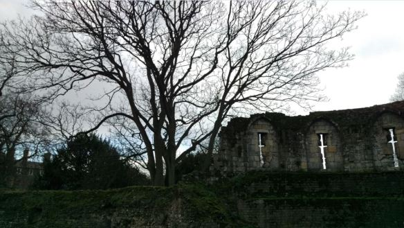 Yorkshire Museum Gardens - barracks ruin 2 (sml)