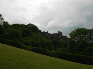 View of the Castle from the Mound near Waverley Station