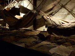 Prison of War bunks and hammocks