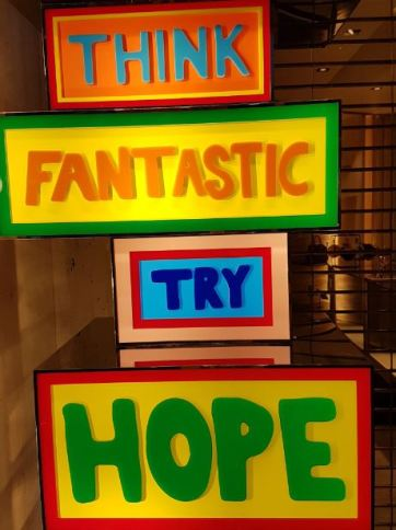 Think Fantastic Try Hope