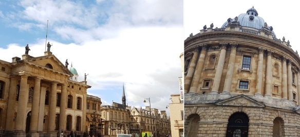 Clarendon Bldg + Radcliffe Camera
