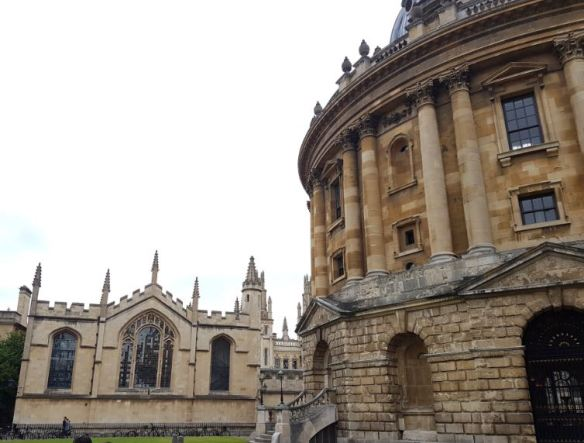 Radcliffe Camera + All Souls College