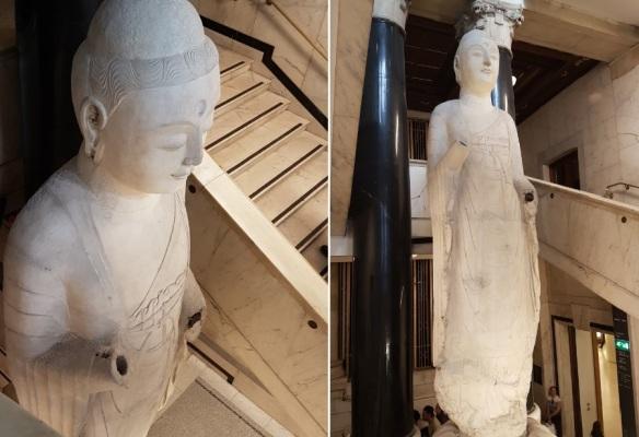 Brit.Mus. Large standing buddha