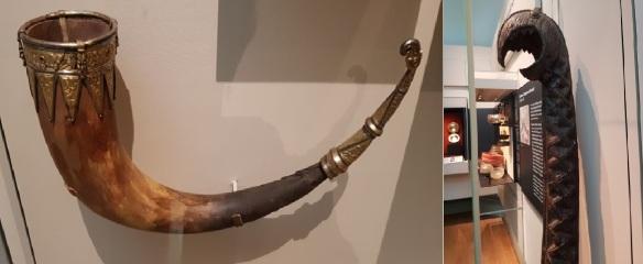 Brit.Mus. Saxon Horn + Ships Prow