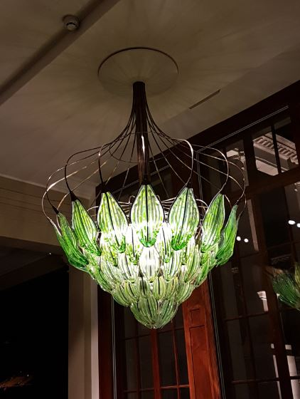 V+A Exhale chandelier