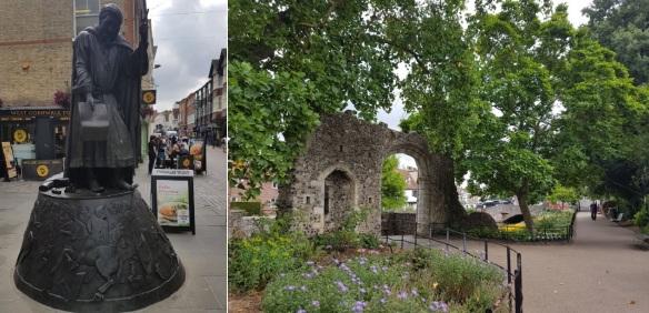 Canterbury - Chaucer and gardens