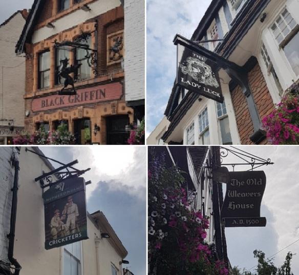 Canterbury signs